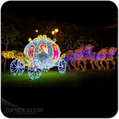 Lighted Outdoor Christmas Decoration
