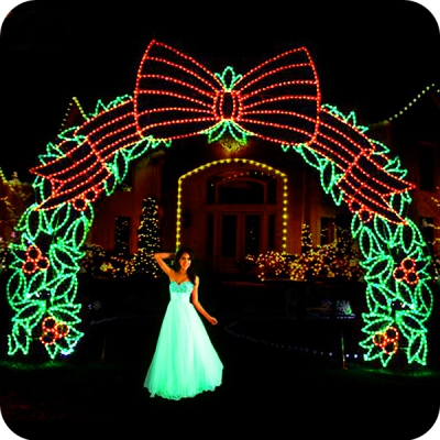 outdoor christmas decorations wedding arches lights - Christmas Arch Decorations